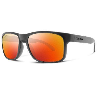 Abaco Polarized Sunglasses - Dockside - Matte Black/Fire Mirror