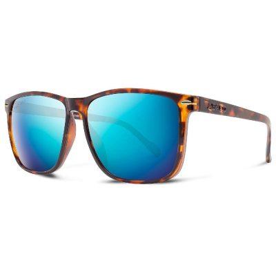 Abaco Polarized Sunglasses - Jesse - Tortoise/Ocean Mirror