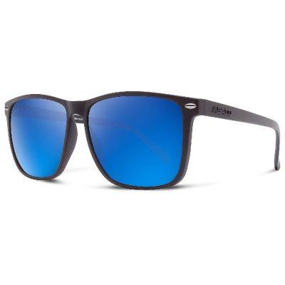 Abaco Polarized Sunglasses - Jesse - Matte Black/Deep Blue